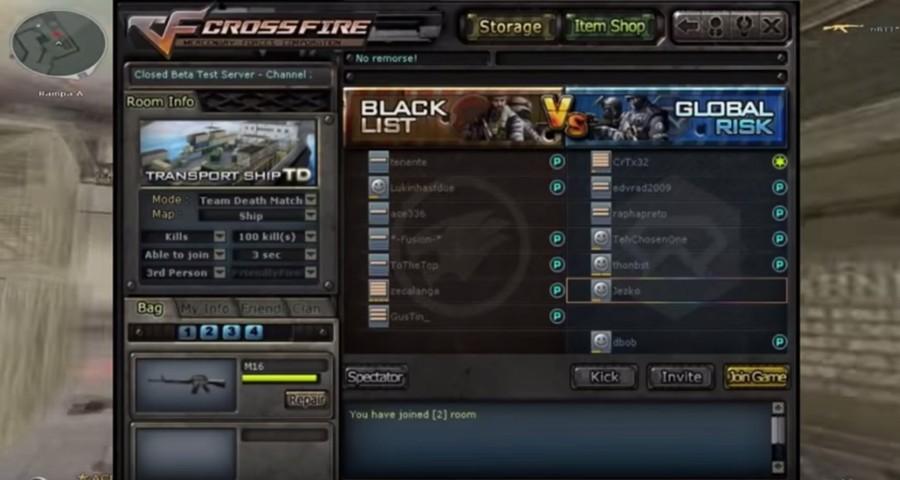 Обзор игры Crossfire