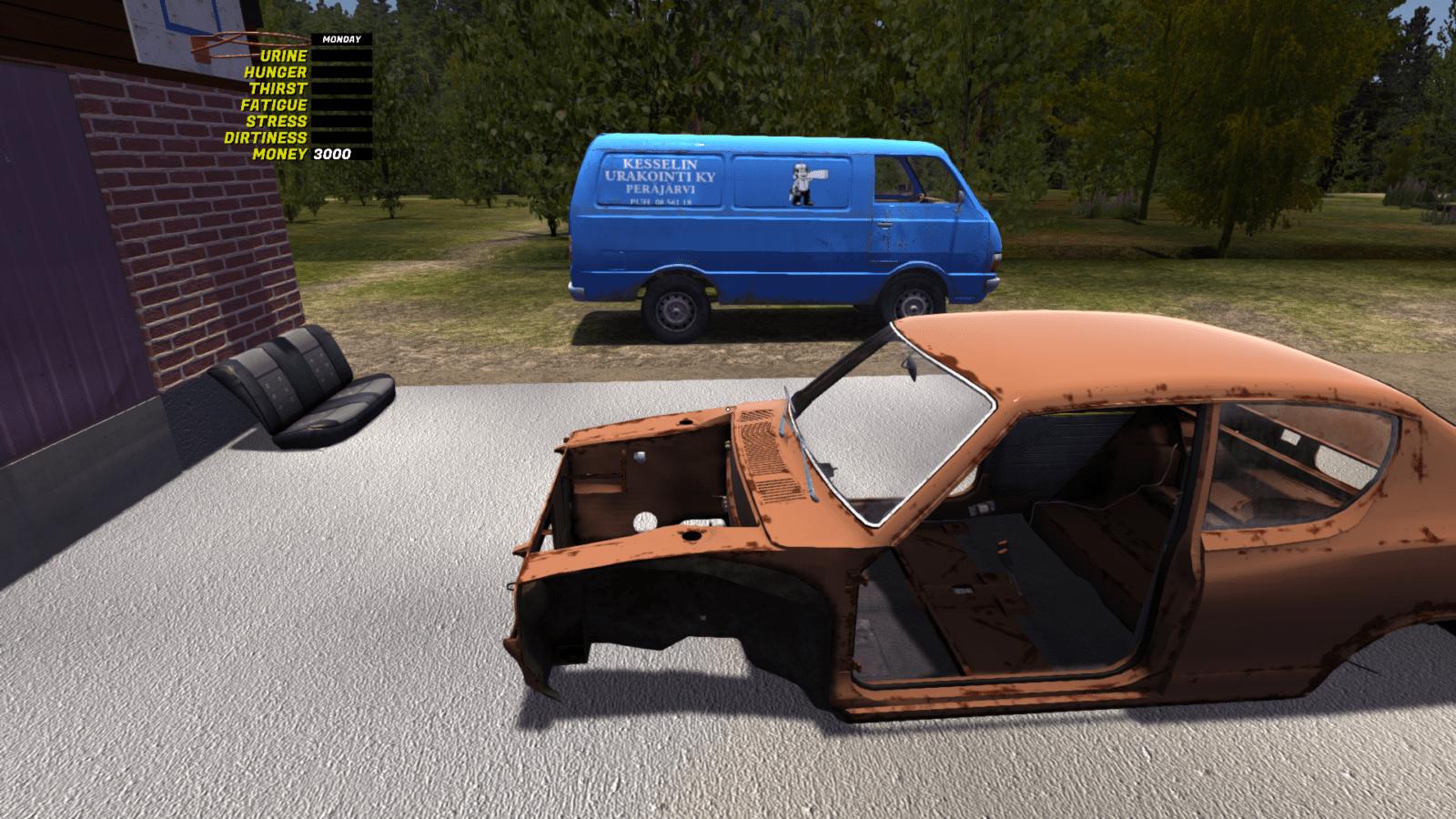Обзор My summer car - автосимулятор на PC, где ремонтируют машину