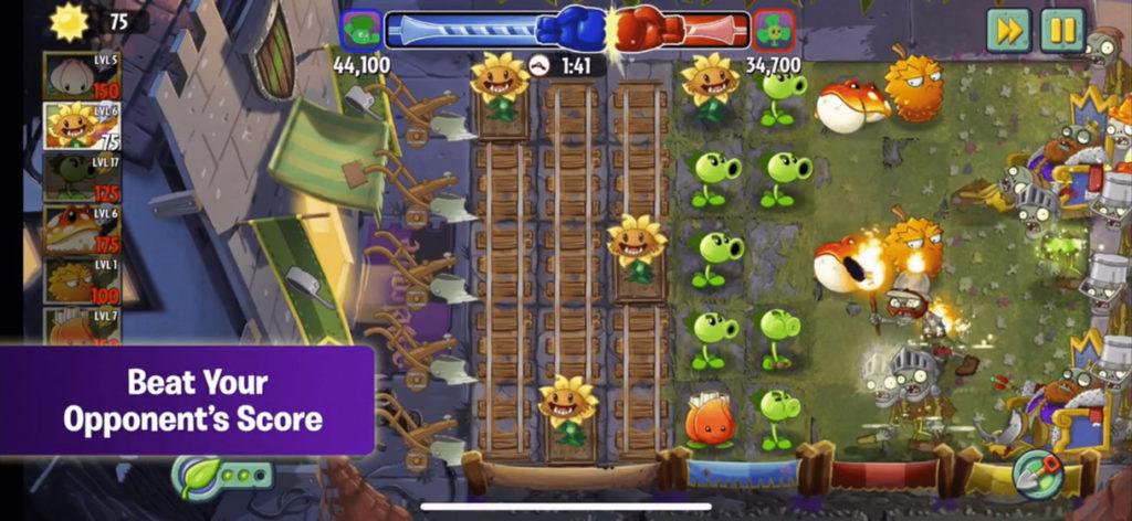 Plants vs. Zombies Бесплатная игра про Зомби